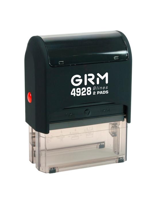 GRM 4928 2 Pads оснастка для штампа 60х30 мм 8 строк