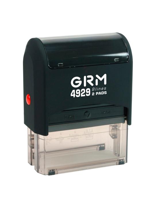 GRM 4929 2 Pads оснастка для штампа 50х30 мм 8 строк