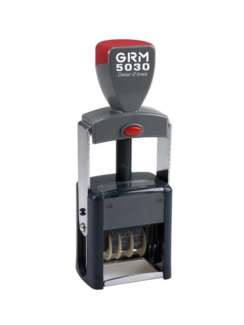 GRM 5030 (2100/4) металлический датер, русский шрифт, высота 4 мм, до 2020г