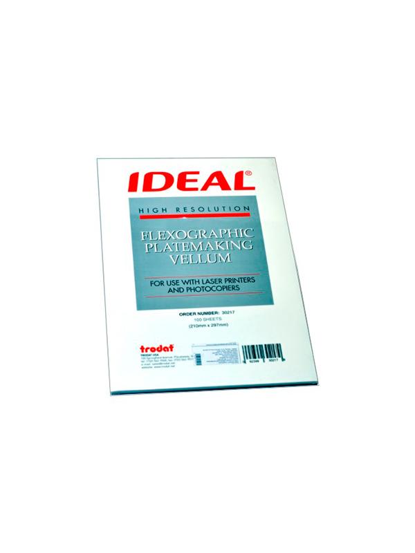 GRM Ideal Vellum A4 (25 листов). Калька для выведения макета на печать.
