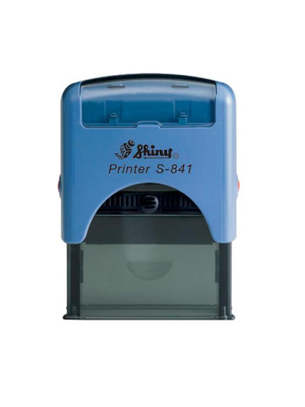 Shiny S-841 New Printer оснастка для штампа 26х10 мм (синяя)