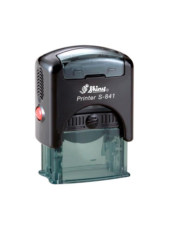 Shiny S-841L New Printer оснастка для штампа 30х10 мм (черная)