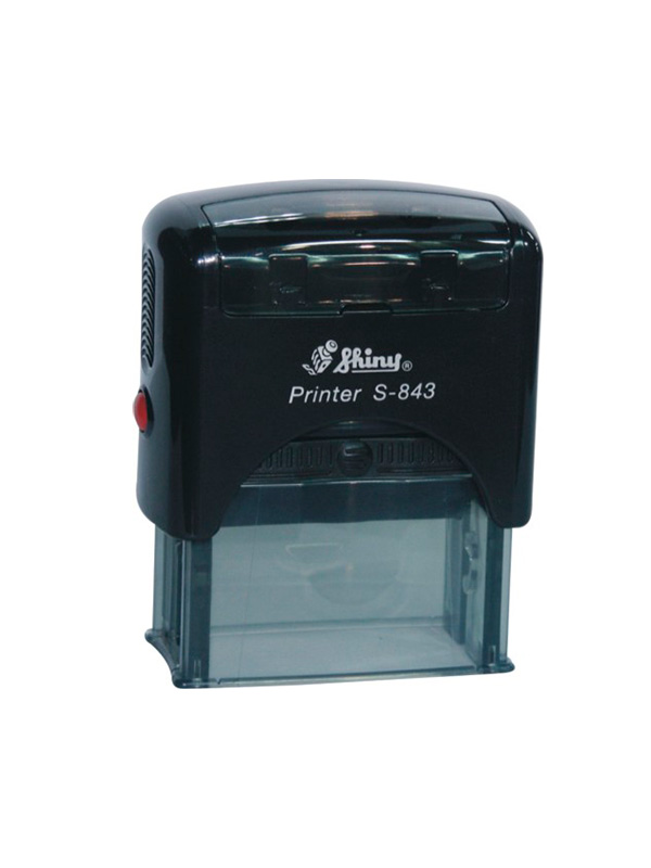 Shiny S-843 New Printer оснастка для штампа 47х18 мм (черная)