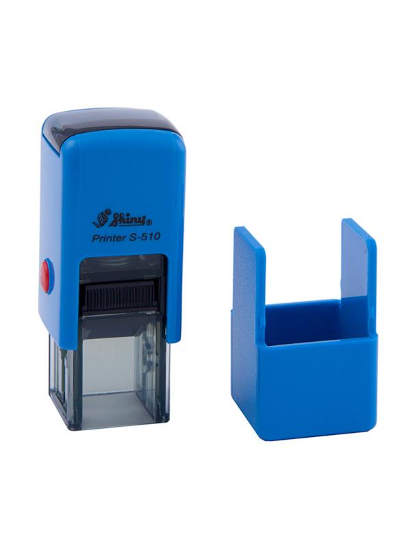 Shiny S-510 Printer оснастка для штампа 12х12 мм (синяя)