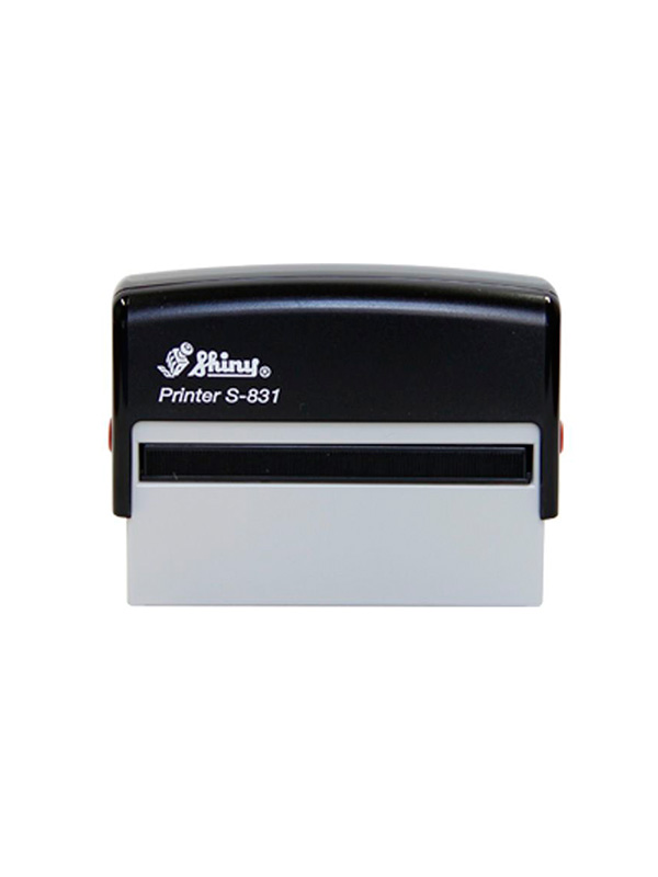 Shiny S-831 Printer оснастка для штампа 70х10 мм