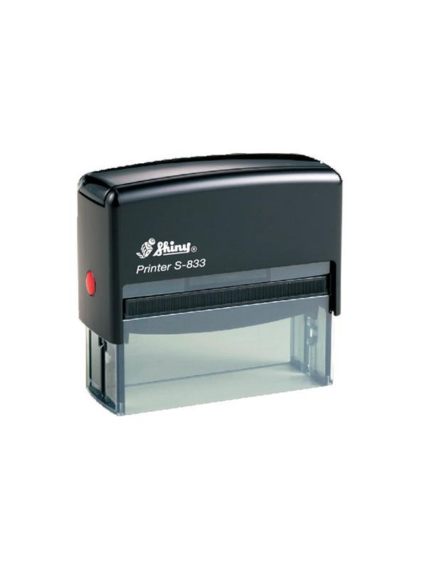 Shiny S-833 Printer оснастка для штампа 82х25 мм (черная)