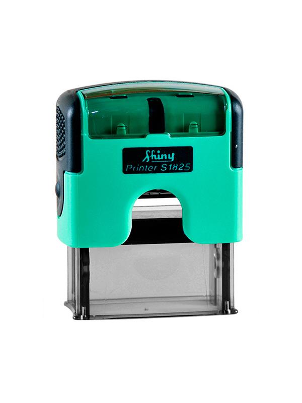 Shiny 1825-S Premium Printer 70 х 25 мм оснастка для штампа (зеленый/черный)