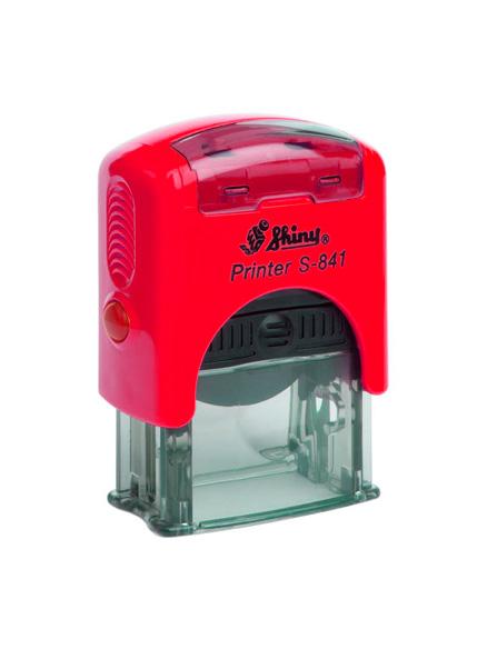 Shiny S-841L  New Printer оснастка для штампа 30х10 мм (красная)