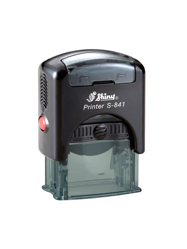 Shiny S-841 New Printer оснастка для штампа 26х10 мм (черная)