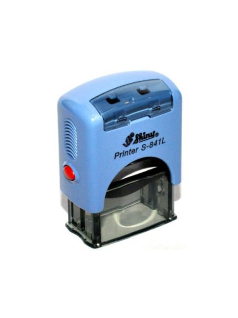 Shiny S-841L  NEW оснастка для штампа PRINTER 30х10 синий мм