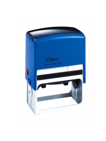 Shiny S-829 Printer оснастка для штампа 64х40 мм (синяя)