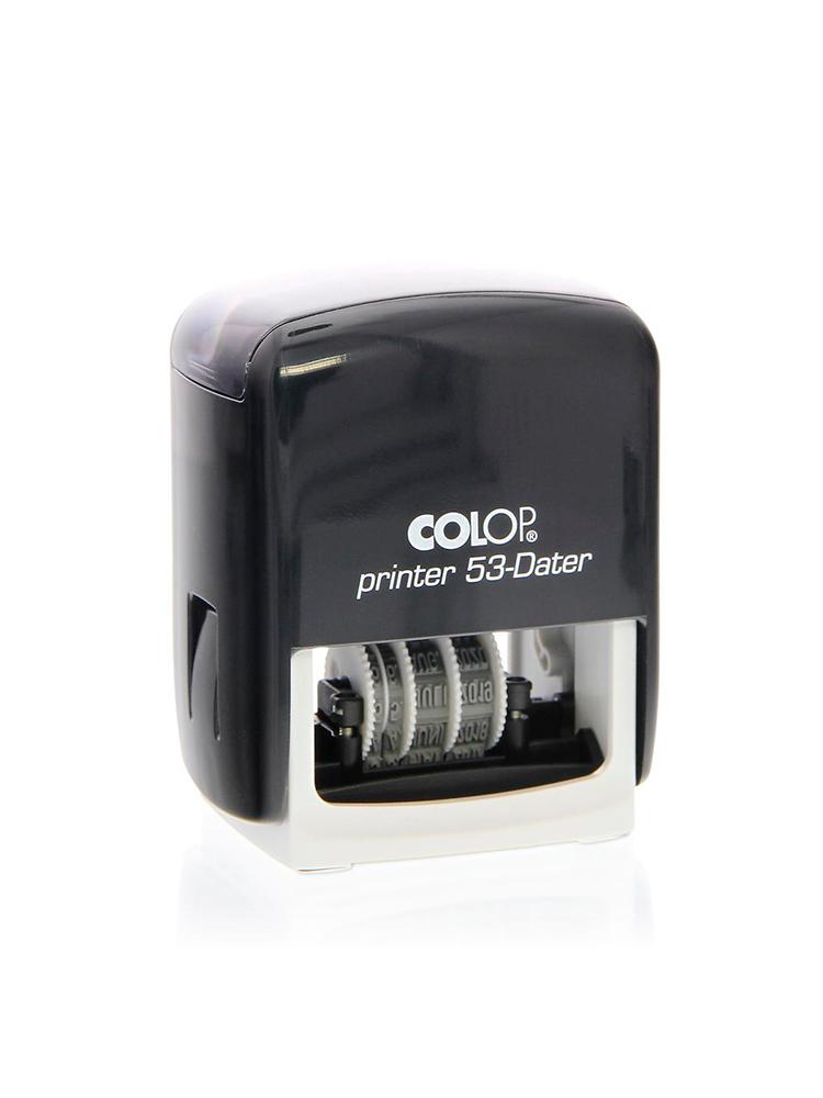 Colop Printer 53-Dater БУКВ датер со свободным полем 30х45 мм.