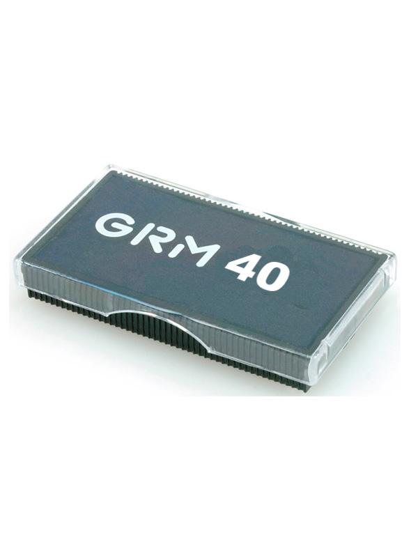 GRM 40 сменая подушка 23х59 мм, (черная).