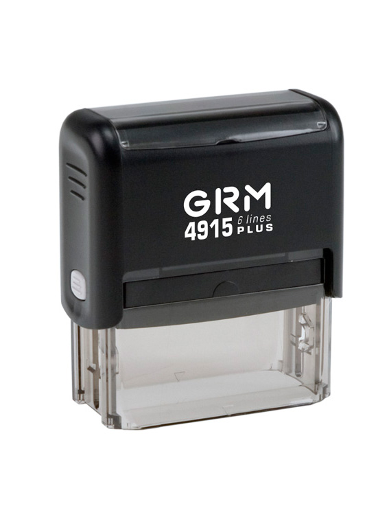 GRM 4915 PLUS   Оснастка для штампа 65х25мм 6 строк