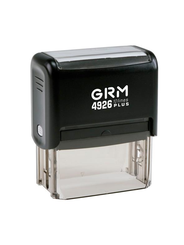 GRM 4926 (60)  PLUS оснастка для штампа 77х39 мм 9 строк