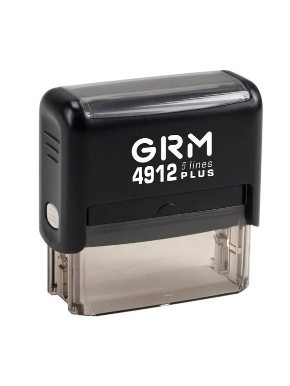 GRM 4912  (30) PLUS 5 lines оснастка для штампа 47х18 мм, 5 строк