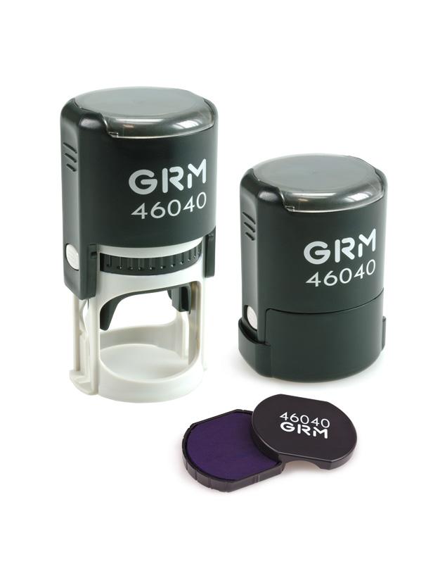 GRM 46040 (R40) 2 Pads Hummer оснастка для круглой печати D 40 мм.