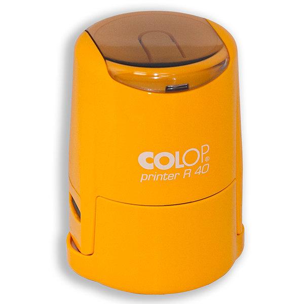 Colop Cover Printer R40 Cary оснастка для печати  D 40 мм с защитной крышкой (кари) (АКЦИЯ)