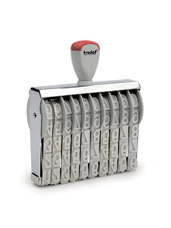 Trodat 151810 Ленточный нумератор металлическй, 10-разрядов, высота шрифта 18мм