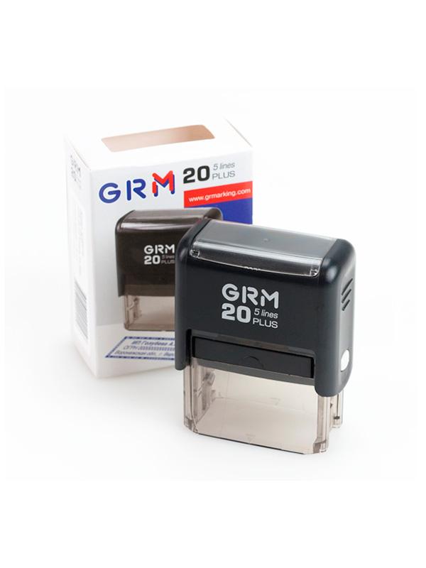 GRM 20  plus оснастка для штампа 41х16 мм, 4 строки