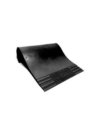 Shiny Titanium Резина  А4+  2,3 мм Титаниум (черная, 310х220 мм.)