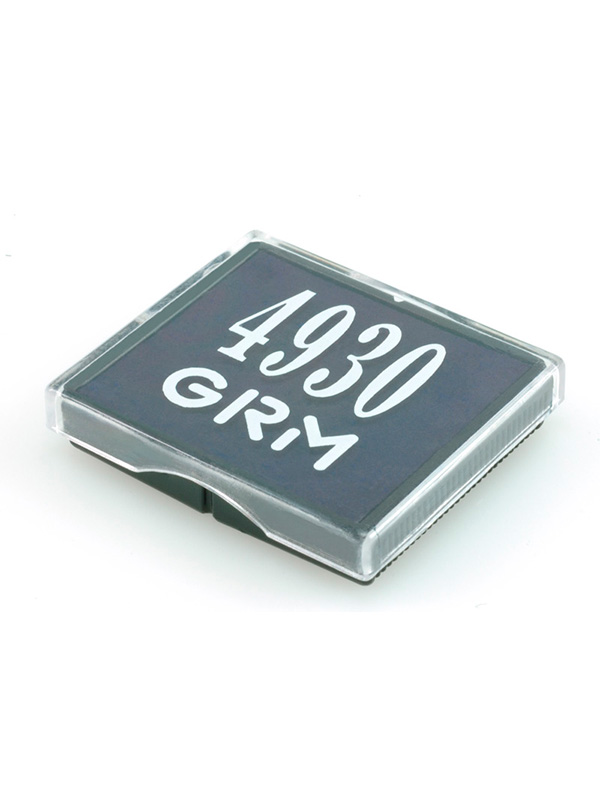 GRM 4930 сменная подушка для штампа 30х30 мм (бесцветная)