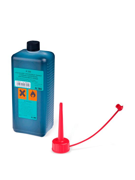 Colop 320 Вк Краска для хлопковых тканей на спиртовой основе 250 мл., (красная)