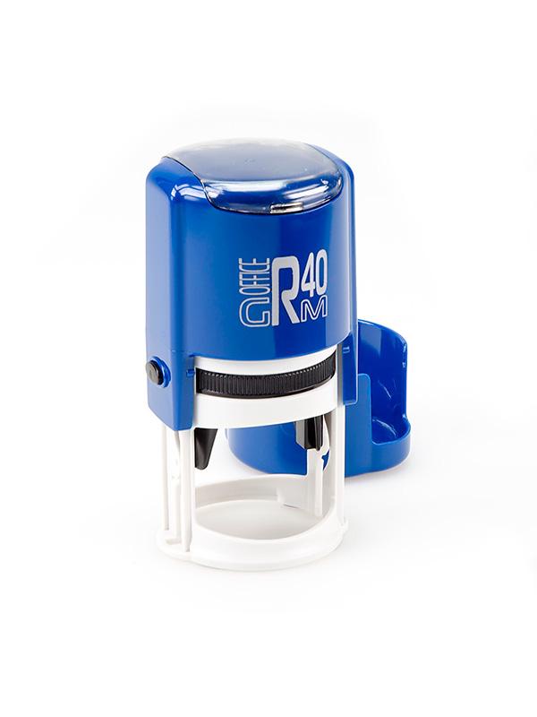 GRM R40 (46040) Plus Compact, оснастка для круглой печати D 40 мм, (синий).