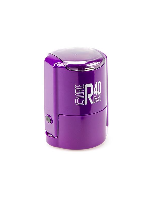GRM R40 (46040) Plus Compact оснастка для круглой печати D 40 мм, (фиолетовая).