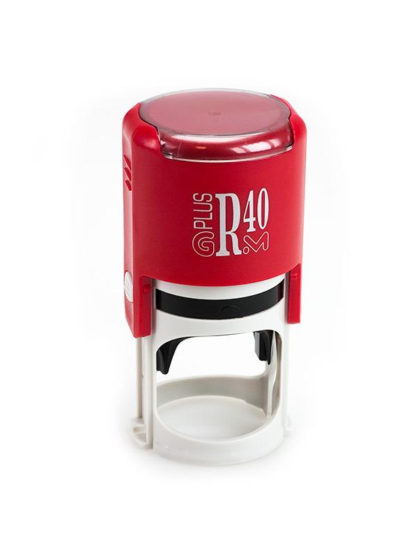 GRM R40 (46040) Plus Compact оснастка для круглой печати D 40 мм (красный).