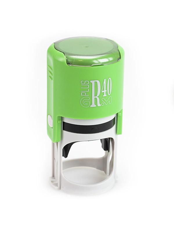 GRM R40 (46040) Plus Compact оснастка для круглой печати D 40 мм (зеленый).
