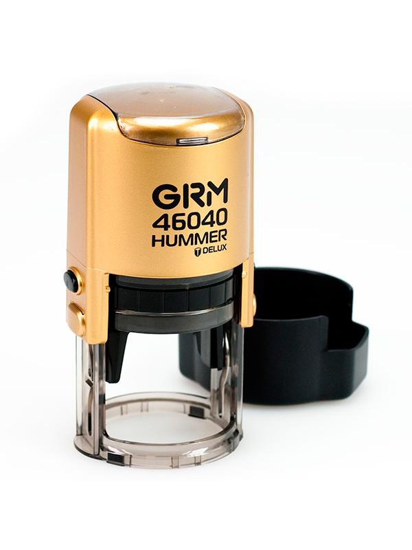 GRM 46040 (R40) Hummer Deluxe оснастка для круглой печати D 40 мм, (золото).