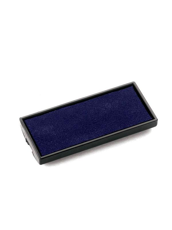 E/Pocket stamp 20 синяя сменная штемпельная подушка для Pocket stamp 20 (14×38 мм.)