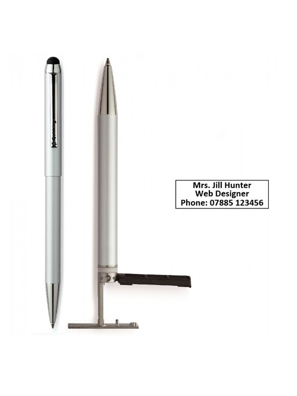 Trodat Goldring Automatic ручка со штампом 35×7мм (нержавеющая сталь)