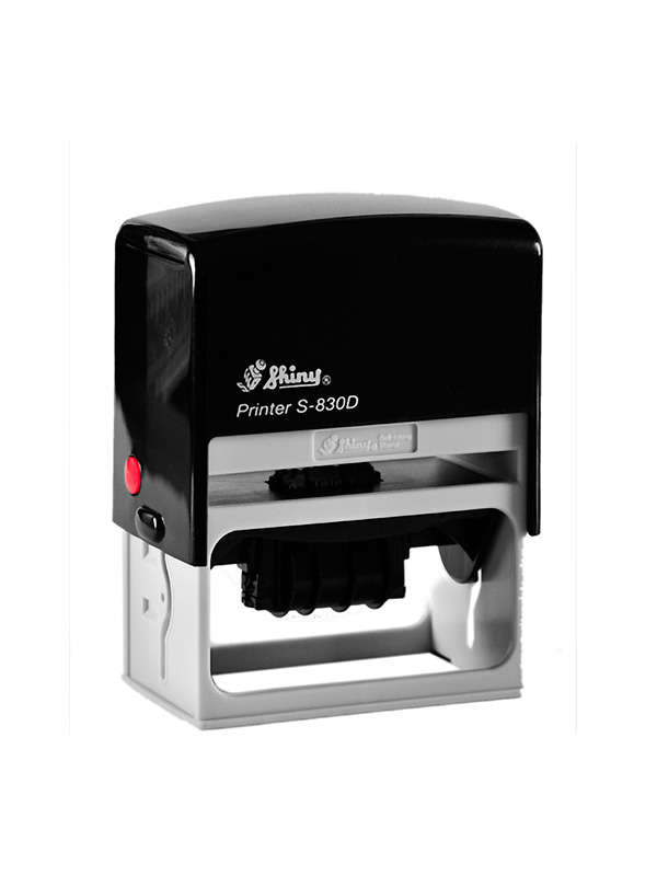 Shiny Printer S-830D Датер цифровой с полем для текста (75х38 мм)
