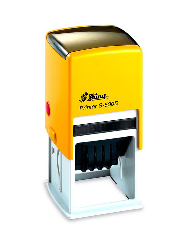 Shiny Printer S-530D Датер с полем для текста 32х32 мм (цифровой)