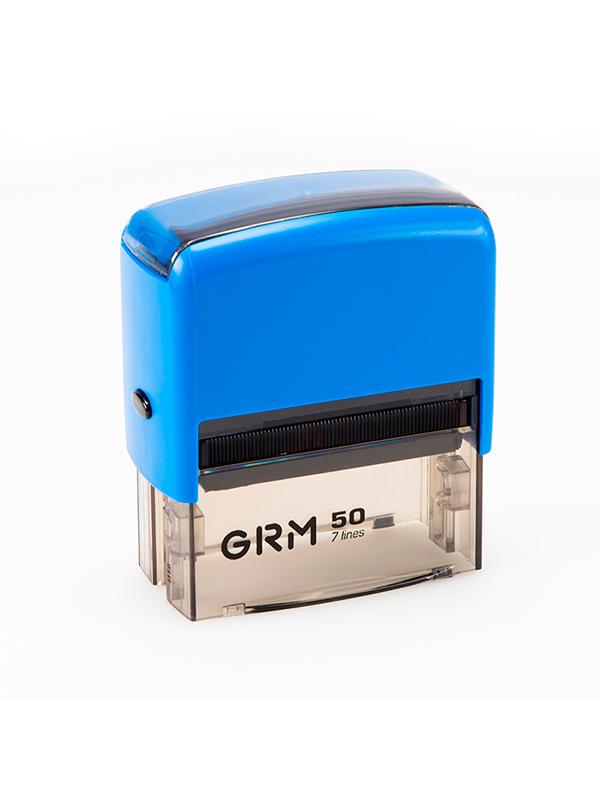 GRM 50 Оснастка для штампа 69х30мм (синяя) (АКЦИЯ)