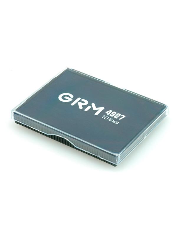 GRM 4927 Р3, сменная подушка 60х40 мм, GRM 4927 Р3,  Trodat 4927, 4727, 4957, 4927/DB, (черная)
