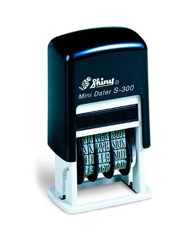 Shiny Printer S-300 мни-датер русский (3мм)