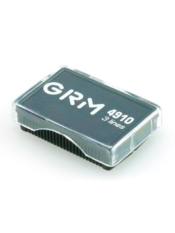 GRM 4910 сменная подушка для GRM 4910, 4810, 4836, размер 26х12 мм, (синяя).