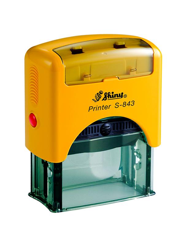 Shiny S-843 New Printer оснастка для штампа 47х18 мм (желтая)