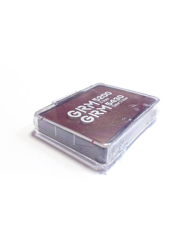 GRM 5200, 5430 сменная подушка для GRM 5200, 5430, 4430, (красная).