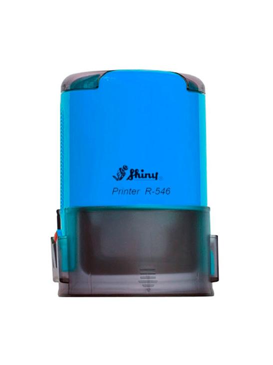 Shiny R-546 оснастка для печати d 46 мм (синий)