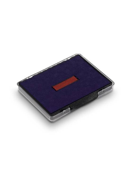 Trodat 6/58/2 сменная штемпельная подушка для 5485 (двухцветная: сине-красная)