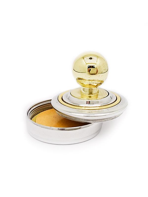 К   «Радий-кнопка» d42 мм. Металлическая оснастка для круглой печати.