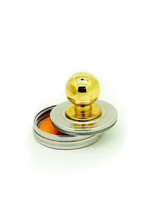 К   «Радий» d42 мм. Металлическая оснастка для круглой печати.