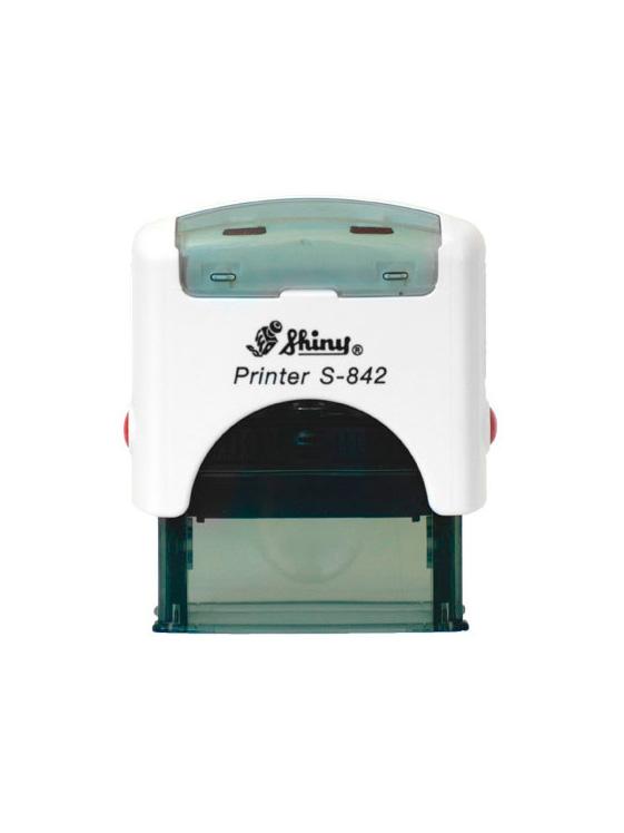Shiny S-842 New Printer оснастка для штампа 38х14 мм (белая)