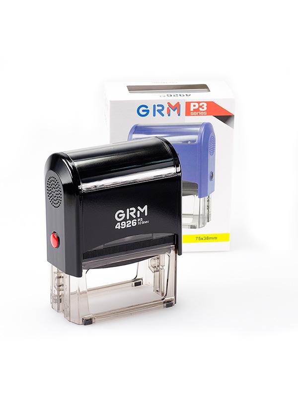 GRM 4926 P3  HUMMER оснастка для штампа 75х38мм 10 строк