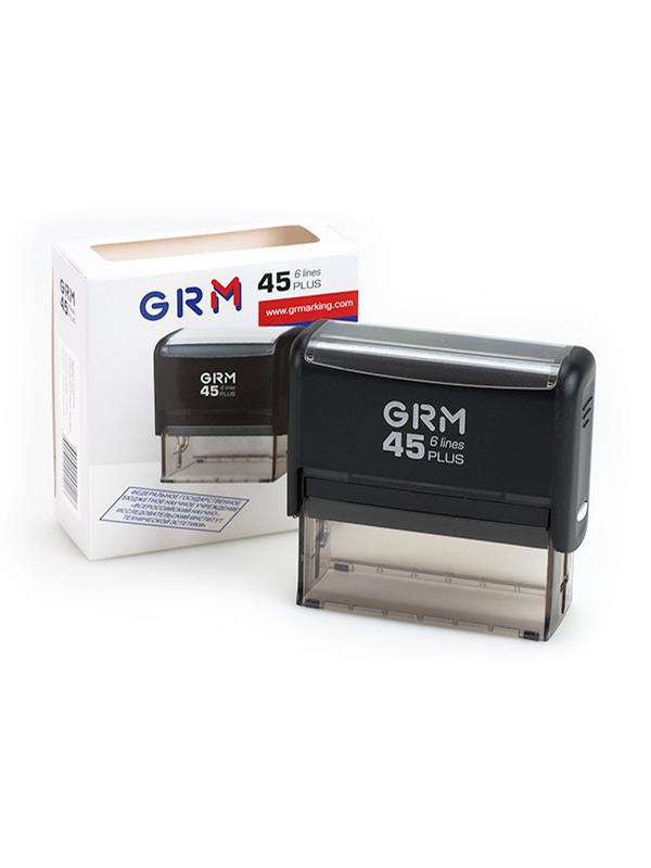 GRM 4925 (45) plus 6 line оснастка для штампа 25х82 мм 6 строк