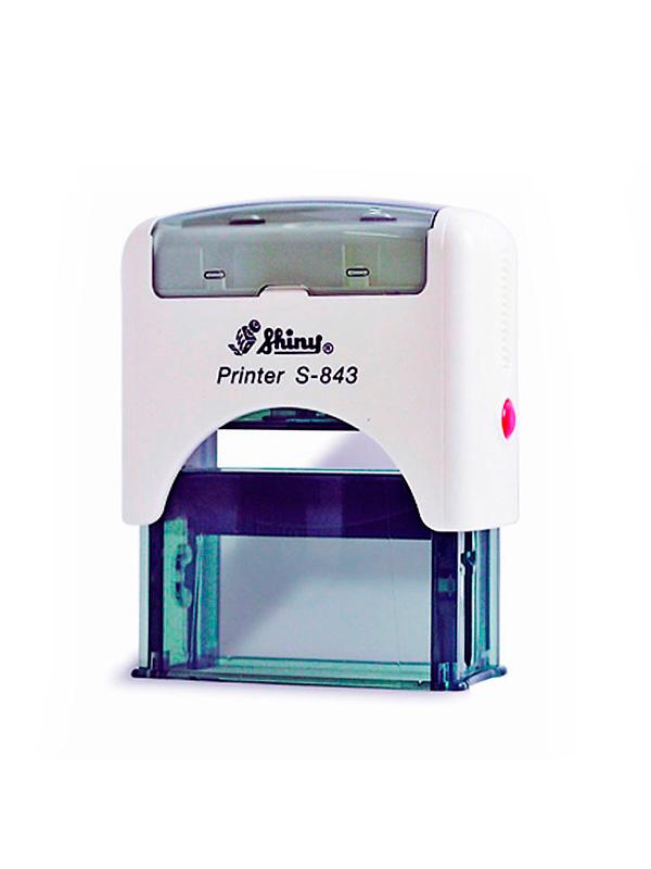 Shiny S-843 New Printer оснастка для штампа 47х18 мм (белая)
